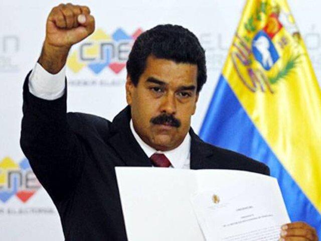 Venezuela: Presidente Maduro culpa a la televisión de la ola de violencia