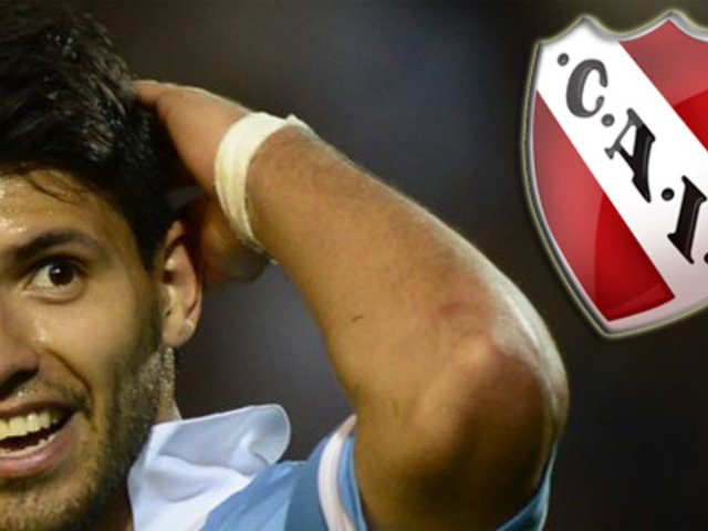 Sergio Agüero quiere fichar a cinco jugadores para Independiente de Argentina