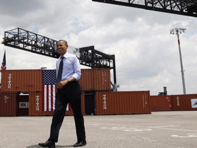 Déficit comercial de EEUU registró su cifra más baja desde 2009