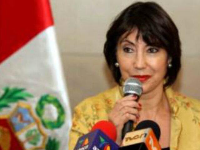 Elizabeth Astete es la nueva embajadora de Perú en Ecuador
