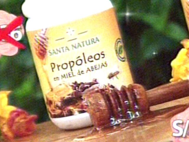 Adquiere Propóleos en Miel de Abeja de Santa Natura a sólo S/.16