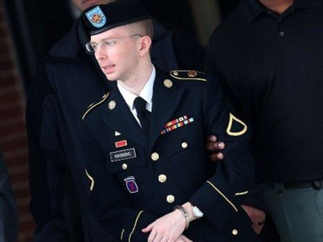 Wikileaks: Soldado Bradley Manning condenado a 35 años de cárcel
