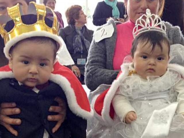 Decenas de bebés participaron en el concurso ' Rey mamoncito 2013'