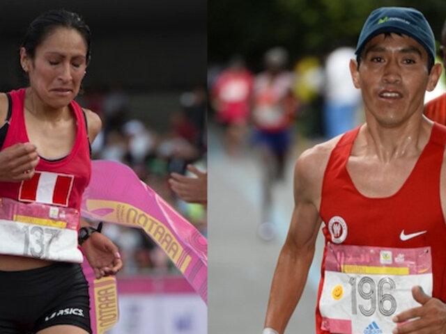 Atletas peruanos se coronaron campeones en la Gran Maratón de México