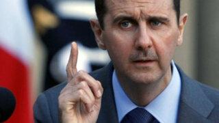 Al Assad niega uso de armas químicas y envía mensaje a los estadounidenses