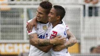 Brasileirao: Paolo Guerrero anotó en la goleada del Corinthians ante Flamengo