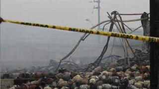 Huachipa: Municipalidad multó a empresa de gas incendiada con S/. 7300