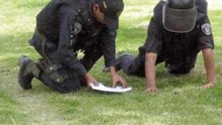 Granadas militares abandonadas en parque causaron pánico en San Borja
