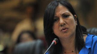 Congresista María López: investigación por narcotráfico en mi contra lleva 10 años