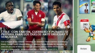 Eliminatorias 2014: Conmebol confundió a la selección peruana con la de Chile