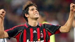 Kaká volvió al AC Milán tras cuatro temporadas en el Real Madrid