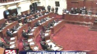 Congreso criticó remodelación de 229 mil soles en oficinas del Ministro Cateriano