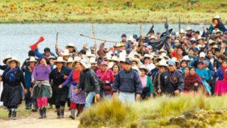Ronderos de Cajamarca reiniciarían paro contra mineras el 23 de setiembre