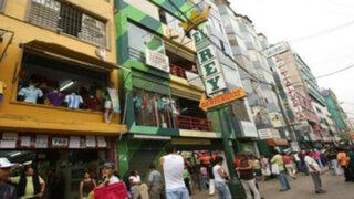 Comerciantes de Gamarra cerrarán galerías y marcharán a la PCM por ropas chinas
