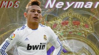 Neymar fue fichado por el Real Madrid en el 2006