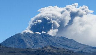 Gobierno Regional de Arequipa se declara en alerta amarilla por volcán Ubinas
