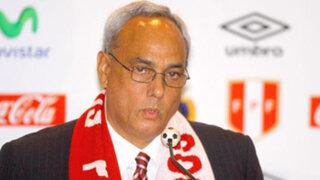 Manuel Burga anuncia que Perú se retira de la Comisión de Árbitros de la Conmebol