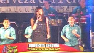 Orquesta Segovia nos canta los más grandes éxitos de la salsa romántica