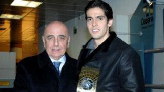 Adriano Galliani: Kaká esta físicamente como si tuviera 20 años