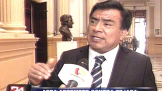 Apristas acusan a Sergio Tejada de filtrar informe BTR sobre Alan García