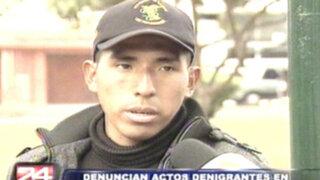 Huancavelica: joven denuncia brutal golpiza en Escuela de Suboficiales