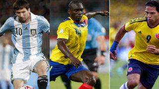 Argentina, Colombia y Ecuador buscan sellar su clasificación a Brasil 2014