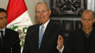 Noticias de las 7: PPK afirma que no hay crisis y apoya a Luis Castilla