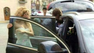 Shakira y Piqué habrían bautizado a su hijo Milan en privado