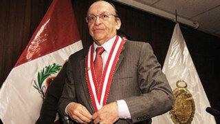 Fiscal Peláez no acudirá ante Fiscalización para informar sobre caso Toledo