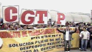 Trabajadores de Prosegur protestan por malas condiciones laborales