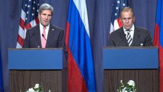 Rusia y EEUU: Siria tiene una semana para hacer público su arsenal químico