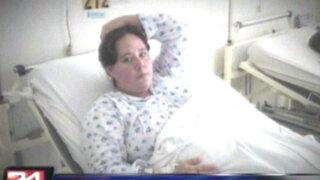 VIDEO: embarazada denuncia mala praxis en hospital Cayetano Heredia