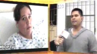 Denuncian al hospital Cayetano Heredia por negligencia en operación de embarazada