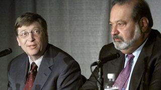 Bill Gates destrona a Carlos Slim y vuelve a ser el hombre más rico del mundo