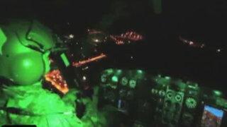 Difunden nuevas imágenes nocturnas de la caída de terroristas 'Alipio' y 'Gabriel'