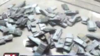 Capturan a delincuentes con más de 200 'ketes' de droga en La Victoria