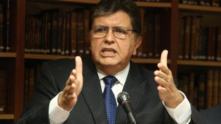 Poder Judicial admite recurso de Alan García contra megacomisión