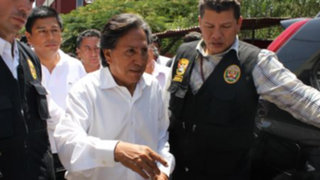 Alejandro Toledo llegó al Congreso para responder por caso Ecoteva