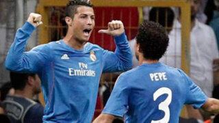 Real Madrid goleó 6-1 al Galatasaray con 'hat trick' de Cristino Ronaldo