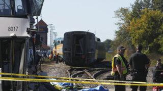 Canadá: choque entre bus y tren deja al menos seis muertos y 31 heridos