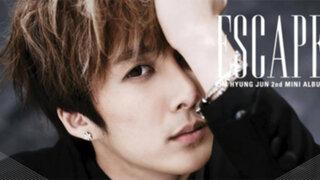 Cantante Kim Hyung Jun de SS501 confirmó primera gira por Latinoamérica