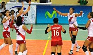 Perú venció 3-1 a Venezuela por el Sudamericano de Vóley