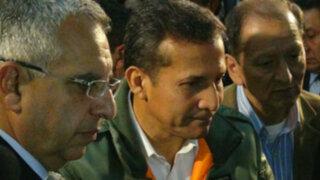 Humala destacó seguridad para las inversiones en convención minera PERUMIN