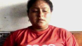 Ancón: detienen a mujer con arsenal de armas de fuego y explosivos