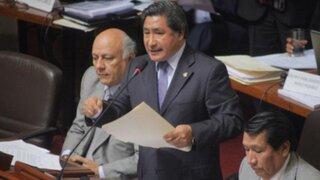 Congresista Julca: Hubo complicidad de varias instituciones en Caso Áncash