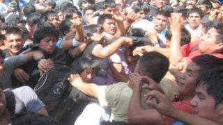 Un policía herido dejó nuevo enfrentamiento en la Universidad La Cantuta