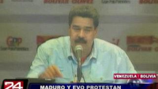 Estados Unidos autorizó uso de su espacio aéreo a presidente de Venezuela