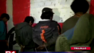 Capturan a 14 extorsionadores que mantenían secuestrada a una familia en Trujillo