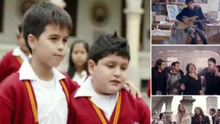 Cantantes nacionales componen canción contra el bullying escolar