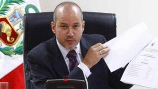 Tejada no descarta acusación constitucional contra García tras investigación